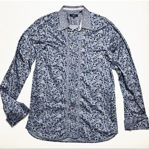 TED BAKER French Cuff Men's Button Down Shirt